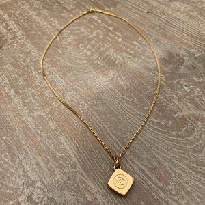 Vintage Authentic Chanel Pendant Choker Necklace